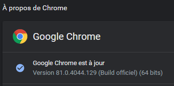 chrome-version